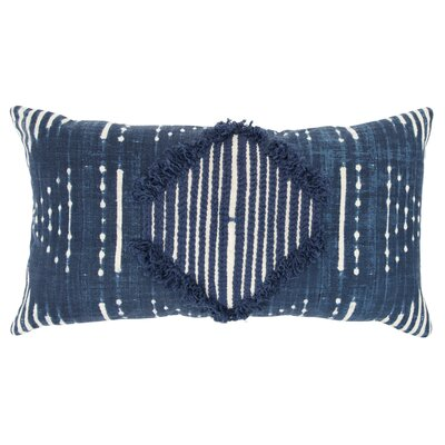 Poly-Filled Cotton Throw Pillow