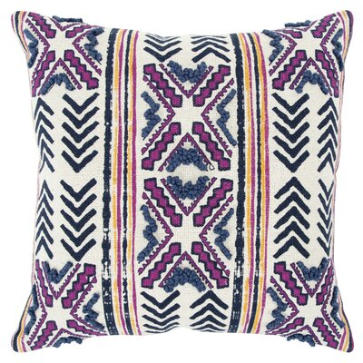 Poly-Filled Cotton Throw Pillow