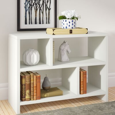 Rensselaer 38 TV Stand Color: White