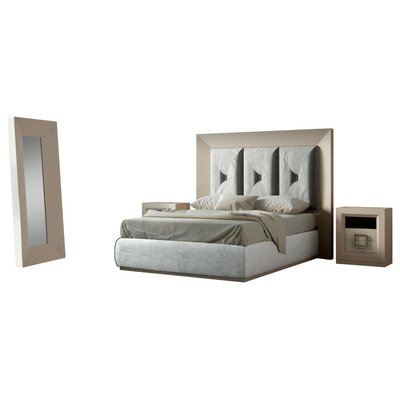Berkley Panel 5 Piece Bedroom Set Size: King