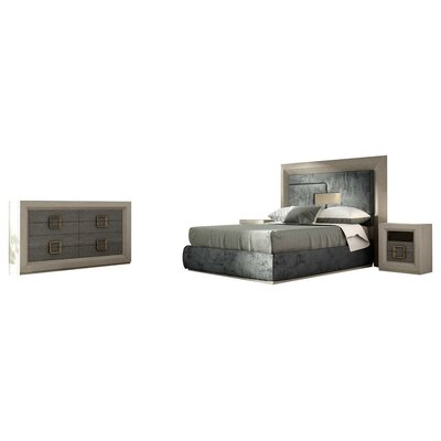 Berkley Panel 5 Piece Bedroom Set Size: Queen