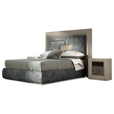 Berkley Panel 4 Piece Bedroom Set Size: Queen