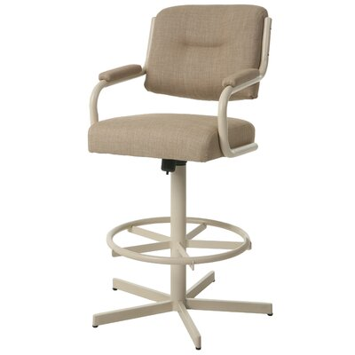 Kew Gardens Swivel Bar Stool Seat Height: 27