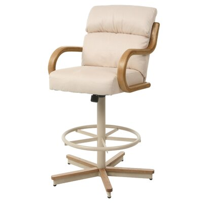 Casiano Swivel Bar Stool Seat Height: 30