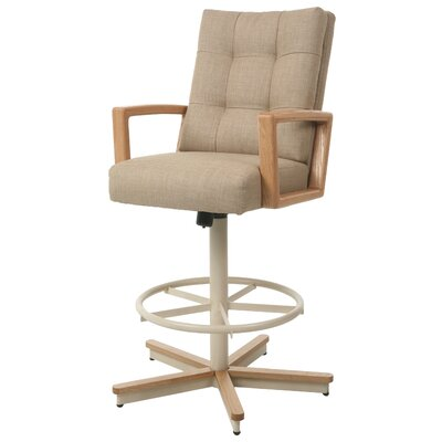 Kier Swivel Bar Stool Seat Height: 31