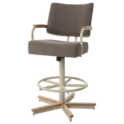 Kewstoke Swivel Bar Stool Seat Height: 27