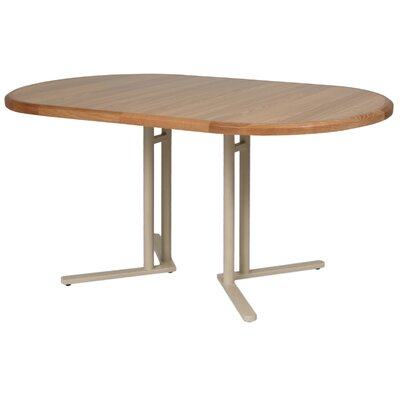 Kiesel Extendable Dining Table Size: 29.5 H x 44 W x 62 D