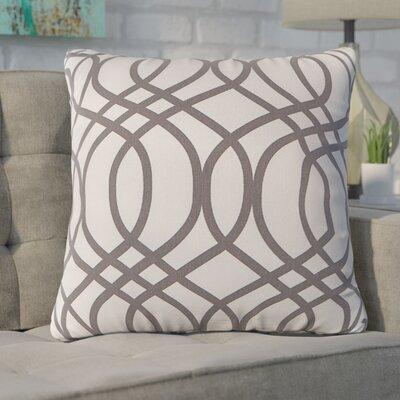 Blecha Throw Pillow Color: Gray