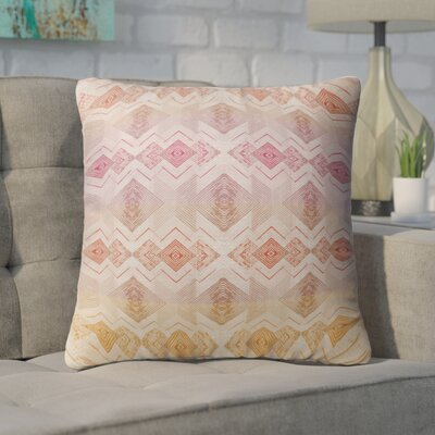 Miranda Square Throw Pillow Size: 18 H x 18 W x 6 D