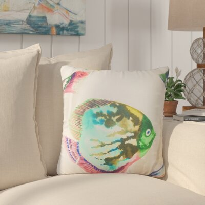 Ayoub Nautical Cotton Throw Pillow