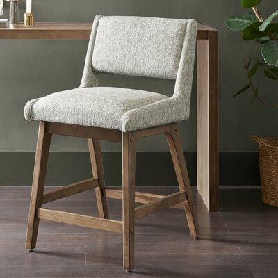 Deerpark 25 Bar Stool Upholstery: Light Gray