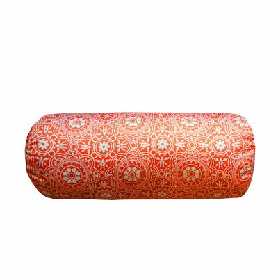 Coughlin Non Bordered Neck Roll Throw Pillow Color: Coral