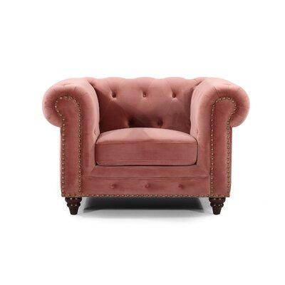 Kratz Armchair Upholstery: Pink