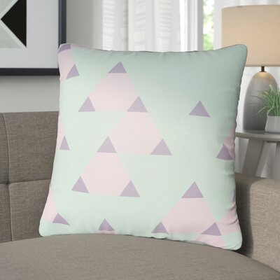 Walpole 100% Cotton Throw Pillow Color: Lavender