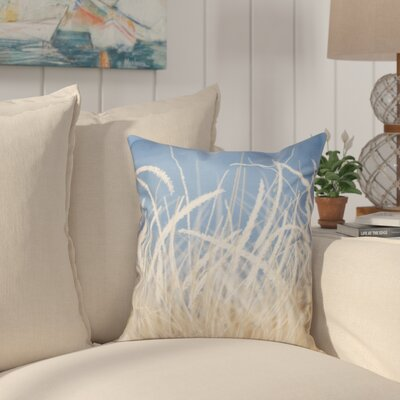 Cedarville Grass 1 Throw Pillow Size: 26 H x 26 W, Color: Blue