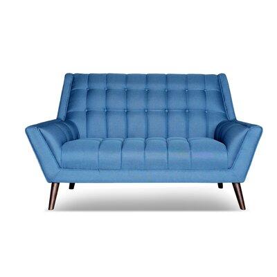 Avila Loveseat Upholstery: Sky Blue