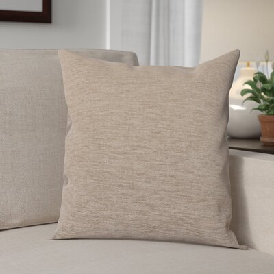 Danin Modern Outdoor Throw Pillow Color: Fawn, Size: Small