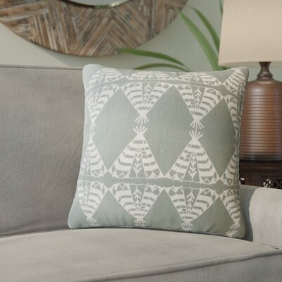 Vail Geometric Down Filled 100% Cotton Throw Pillow Size: 22 x 22, Color: Dew