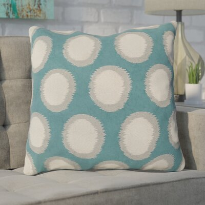Mcelhaney Throw Pillow Color: Teal