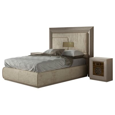 Berkley Panel 4 Piece Bedroom Set Size: King