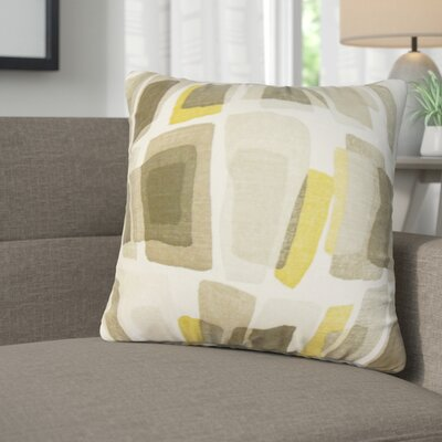 Kristina Geometric Cotton Throw Pillow