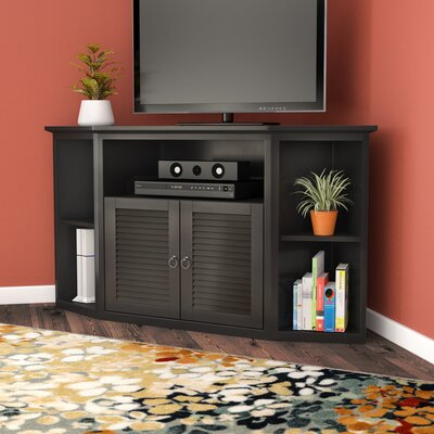Jeffcoat 52 TV Stand Color: Matte Black