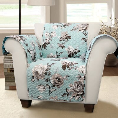Floral Armchair Slipcover