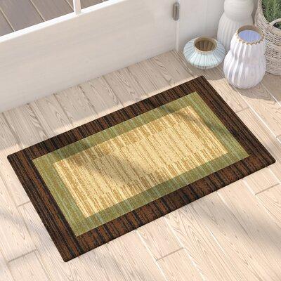 Cooke Floral Doormat Mat Size: Runner 18 x 411