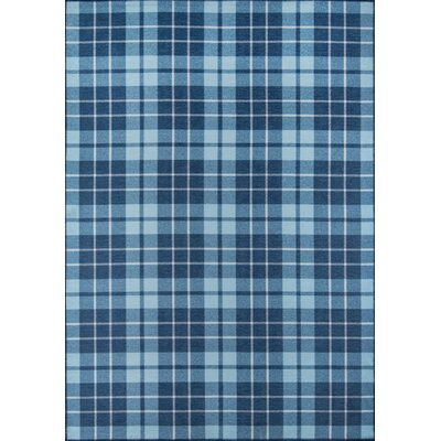 Blair Blue Area Rug Rug Size: Rectangle 76 x 96