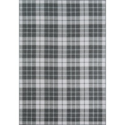 Windsor Charcoal Area Rug Rug Size: Rectangle 5 x 76