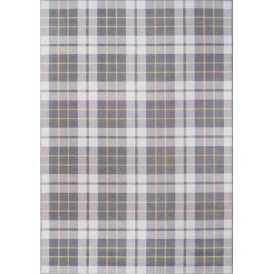 Cadet Gray Area Rug Rug Size: Rectangle 33 x 5