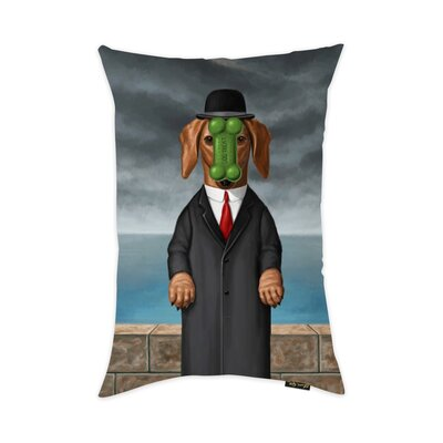 Diantha Son of Dog Throw Pillow