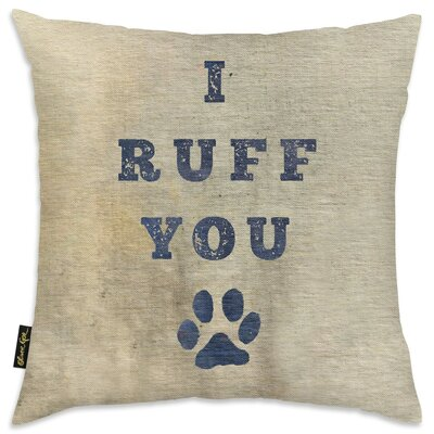 Crispin I Ruff You Throw Pillow