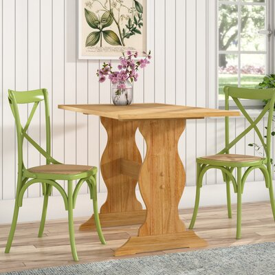 Patty Nook Kitchen Table Finish: Natural