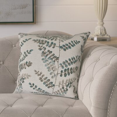 Pineiro Woven Decorative Pillow Cover Color: Teal