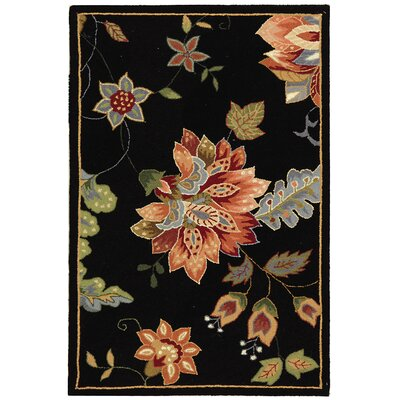 Helena Floral Rug Rug Size: Rectangle 29 x 49