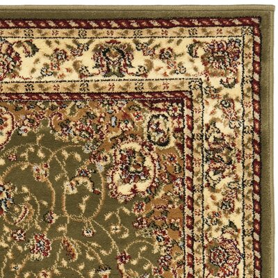 Richborough Sage/Ivory Area Rug Rug Size: Rectangle 33 x 53