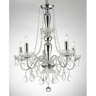 Holton Elegant 5-Light Candle-Style Chandelier