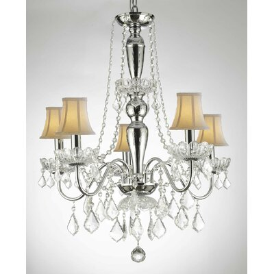Holton 5-Light Candle-Style Chandelier
