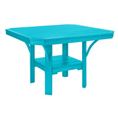 Longfellow Dining Table Color: Turquoise