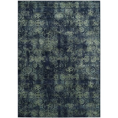 Makenna Navy Area Rug Rug Size: Rectangle 8 x 112