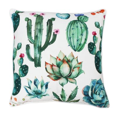 Cassano Succulent Throw Pillow