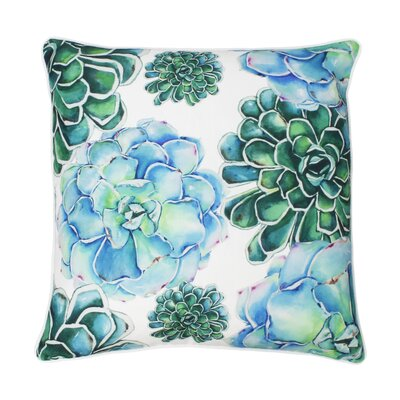 Cass Succulent Throw Pillow