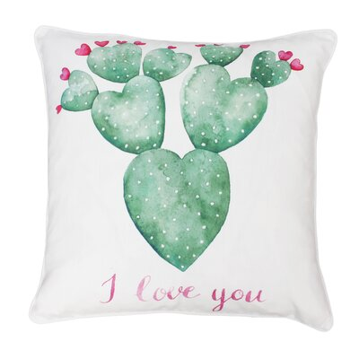 Trujillo Succulent Throw Pillow