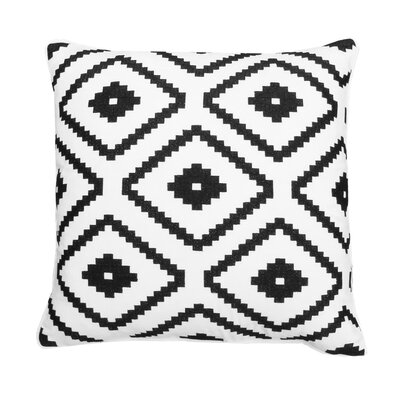 Kulik Aztec Embroidered Throw Pillow