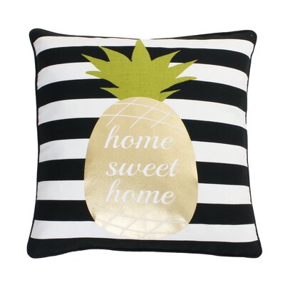 Burwell Pineapple Throw Pillow