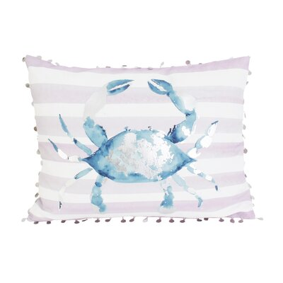 Chalfant Crab Throw Pillow