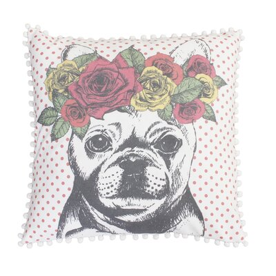 Trull French Bulldog Throw Pillow