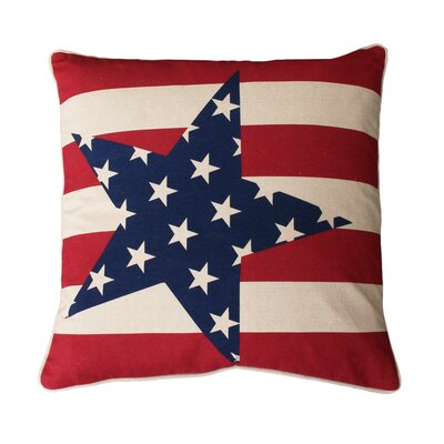 Chupp Stars and Stripes Throw Pillow
