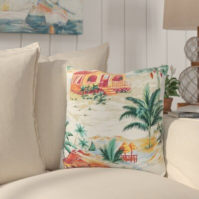 Gerolakkos Tiki Hut Indoor/Outdoor Throw Pillow